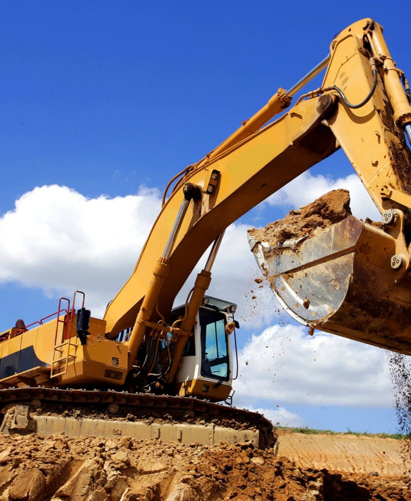 excavation site being worked on in colorado springs